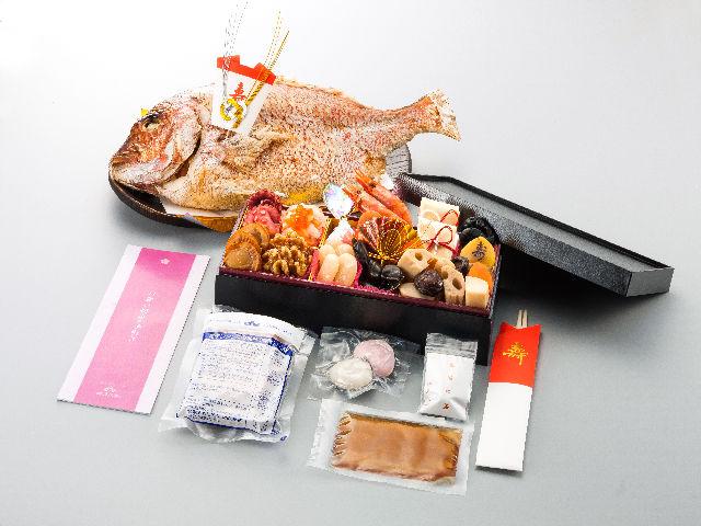 博多久松 お食い初め 焼鯛セットの内容