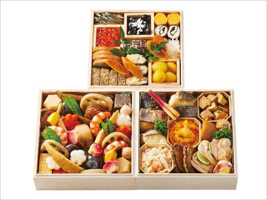 日本料理 TAKEMOTO 謹製三段重 伊勢丹限定おせち2021年